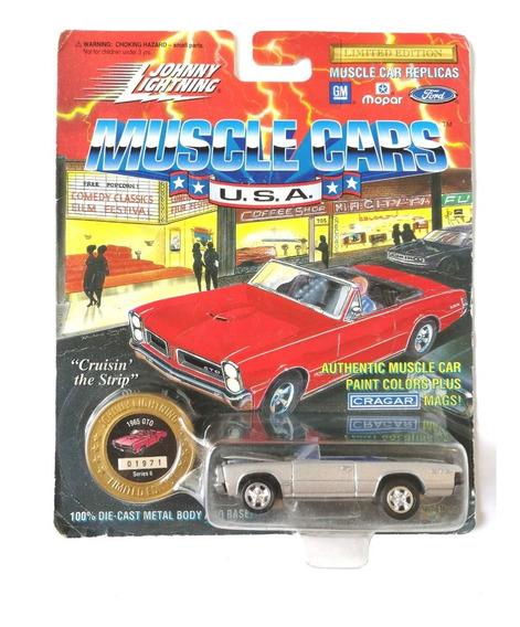 Johnny Lightning Pontiac Gto Descapotable Metal Metal