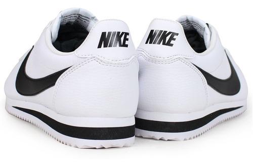 Tenis Nike Classic Cortez Leather Blanco 100% Originales - $1,798.00