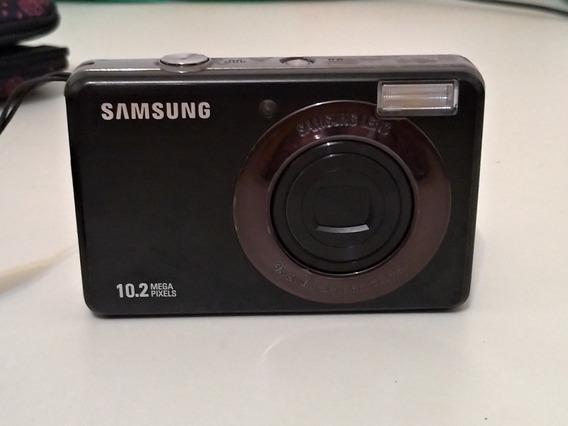 Câmera Digital Samsung 10.1 Com Cabo Av No Estado