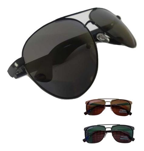 Imagem 1 de 7 de Oculos De Sol Masculino Polarizado Original Com Nota Fiscal