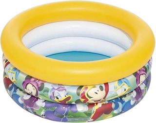 Pileta Inflable Mickey Bebes Ideal Balcon Bestway Titanweb