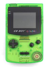 Gb Boy Colour Tela Iluminada Luz + 66 Jogos = Game Boy Color