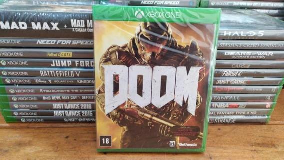 Doom - 100% Em Portugues - Midia Fisica Lacrado - Xbox One