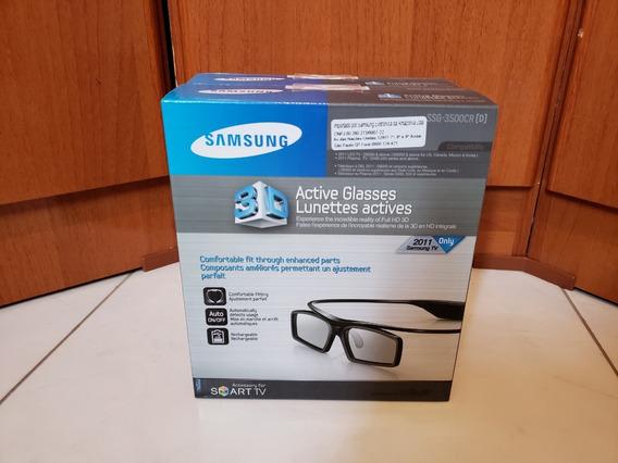 Óculos 3d Samsung Ativo Ssg-3500cr 2 Unidades