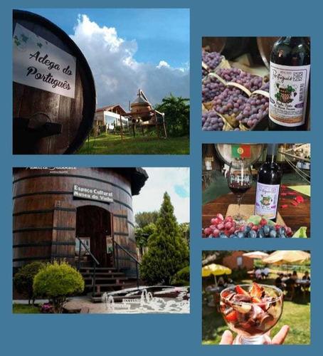 Imagem 1 de 2 de Excursão Para Rota Do Vinho De Jundiaí