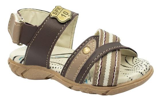 Sandalia Papete Infantil Menino Barato Chinelo Moda Sapato