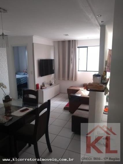 Apartamento Para Venda Em Parnamirim, Emaús, 2 Dormitórios, 1 Banheiro, 1 Vaga - Ka 0871