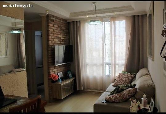 Apartamento Para Venda Em Mogi Das Cruzes, Cézar De Souza, 2 Dormitórios, 1 Banheiro, 1 Vaga - 2722_2-1070652