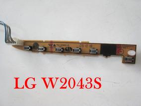 Placa Teclado Botões Painel Lg Flatoron W2043s- Original