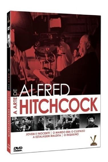 Dvd A Arte De Alfred Hitchcock Versatil Bonellihq B19