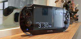 Ps Vita Preto - Original - Usado