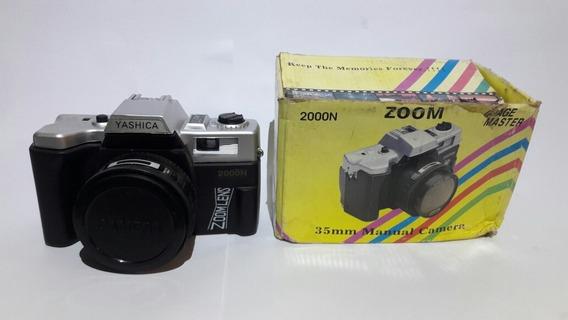 Câmera Fotográfica Yashica Antiga