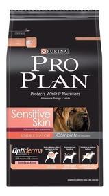 Ração Pro Plan Sensitive Skin Adultos 10kg