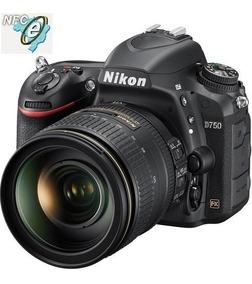 Nikon D750 Kit 24-120mm F/4g Ed Vr - Nova, Pronta Entrega!