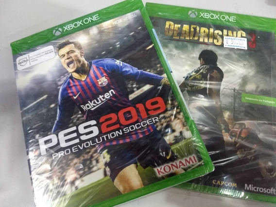 Pes 19 + Dead Rising 3 Xbox One Mídia Física