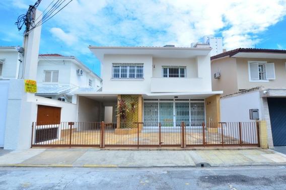 Casa À Venda E Locação, 271 M² P- Vila Nova Conceição - São Paulo/sp - Ca0252