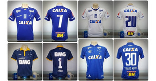 Coleção 21 Camisas Futebol Cruzeiro