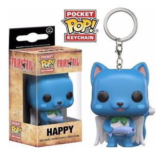 Funko Pop Keychain - Llavero Happy - Fairy Tail