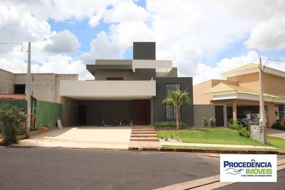 Casa De Alto Padrão, Com Elevador, 4 Dormitórios Para Venda Ou Locação No Residencial Eco Village Ii - São José Do Rio Preto/sp. - Ca2270