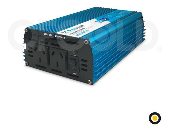 Inversor De Tensión De 12vdc A 220vac. 400w Pronext Inv-400
