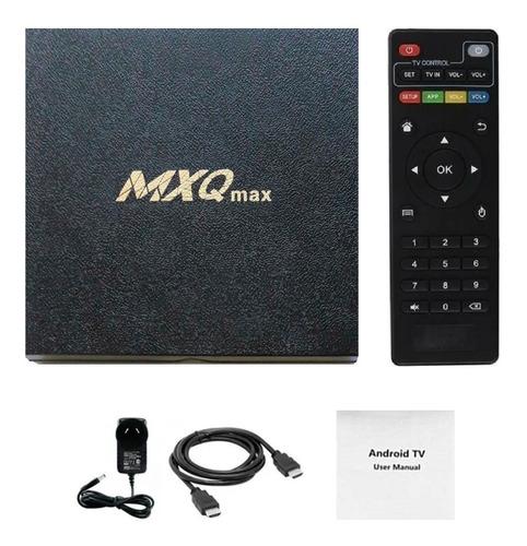 Conversor Smart Tv Box Android10 4k Netflix 4gb Ram 32gb Rom