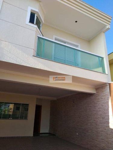 Imagem 1 de 22 de Sobrado Com 3 Dormitórios À Venda, 185 M² Por R$ 710.000,00 - Vila Baeta Neves - São Bernardo Do Campo/sp - So0369