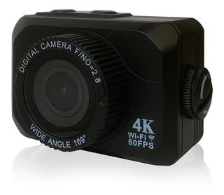 Videocamara T5 Vak Hero 4k 60fps Gps Touch Streaming Wifi