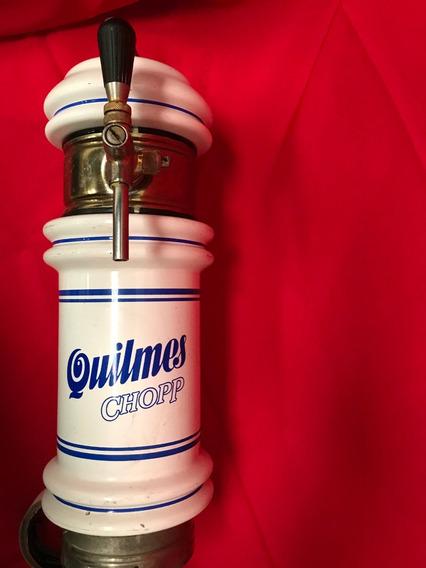 Pilon Torre Ceramica Chopera Cerveza Quilmes Chopp