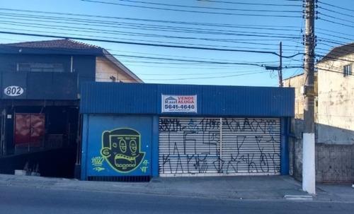 Locação/venda Salão - Vila Das Belezas, São Paulo-sp - Rr3297
