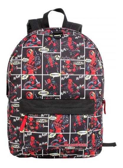 Mochila Escolar Dmw Deadpool Marvel 11382