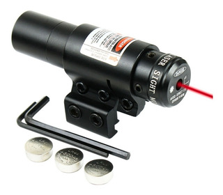 Mira Laser Fox Punto Rojo Tactica Switch Rifles Pistolas