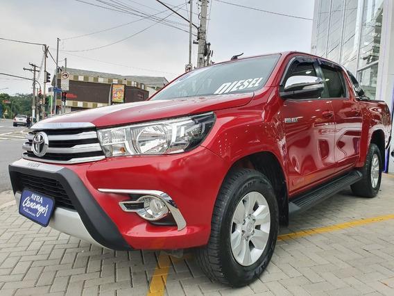 Toyota Hilux Cd Srv 4x4 2.8 Tdi Diesel Aut. 2016/2016