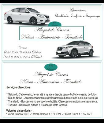 Aluguel De Carro Com Motorista Para Eventos. Casamento