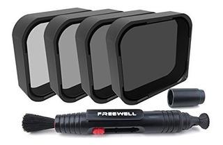 Kit De Filtros Freewell Nd4 Nd8 Nd16 Nd32 Para Gopro -negro