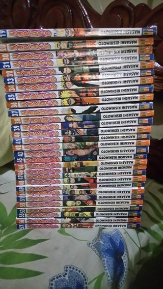 Mangá Naruto Lote Vários Volumes (descrição)