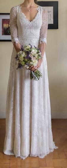 Vestido De Noiva Grife A Modista