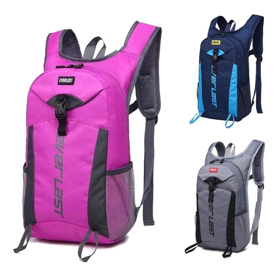 Mochilas Running Bici Botinero Motocross Mujer Hombre Gym