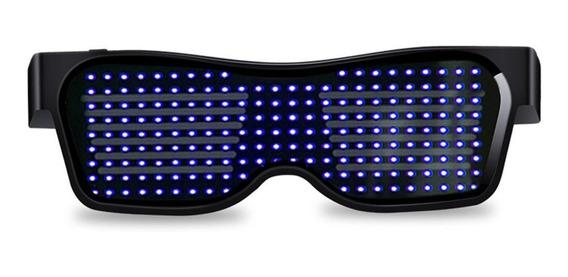 Óculos Iluminadores Sem Fio Led Louver Óculos Festa Nocturna