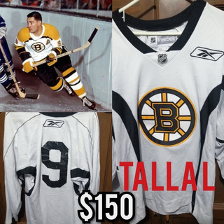 Jersey Nhl Bruins #9 L Coleccionable