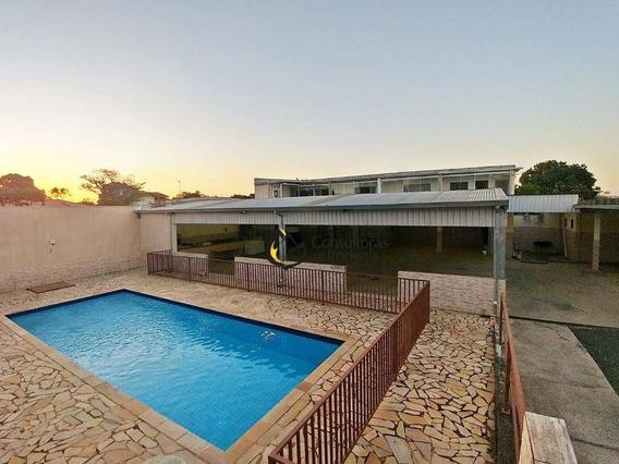 Chácara Com 5 Dormitórios À Venda, 1000 M² Por R$ 480.000,00 - Parque Da Represa - Paulínia/sp - Ch0014