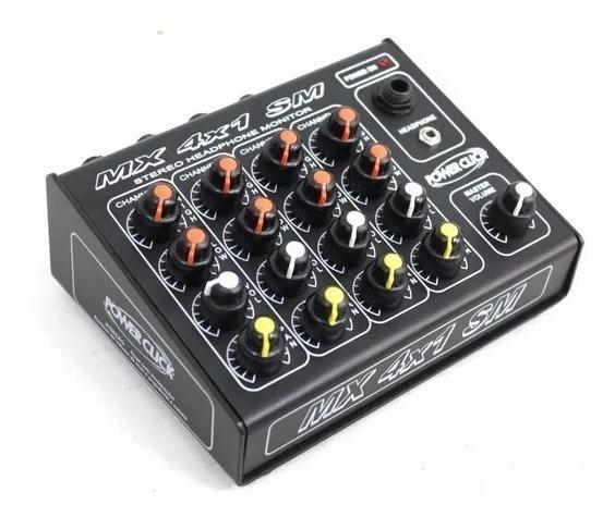 Power Click Modelo Mx 4x1 Sm Monitor Para Retorno
