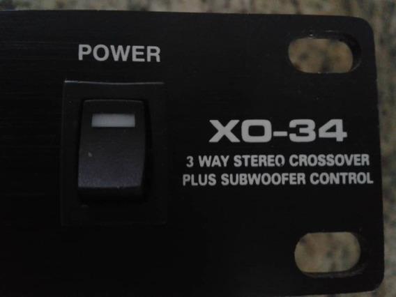 Stereo Power Crossover Xo-34
