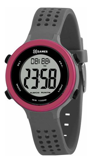 Relógio X Games Feminino Xfppd071 Bxgx Cinza - Refinado