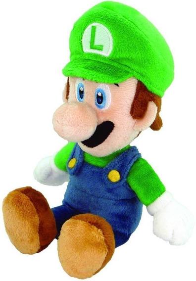 Pelucia Luigi Little Buddy Toys Nintendo Official Mario Bros