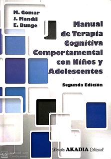 Manual De Terapia Cognitiva Comportamental Con Niños Y Adole
