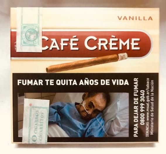 Cigarros Cafe Creme Vainilla X 10 Puritos