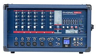 Mixer Pot. Consola Phonic Power 630 Rw - Envio Gratis !!!