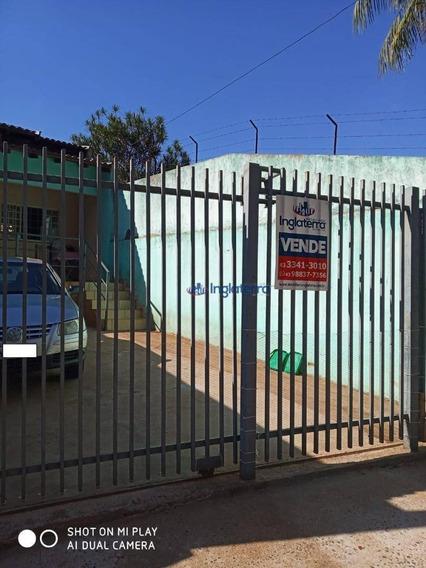 Casa À Venda, 62 M² Por R$ 170.000,00 - Califórnia - Londrina/pr - Ca1394