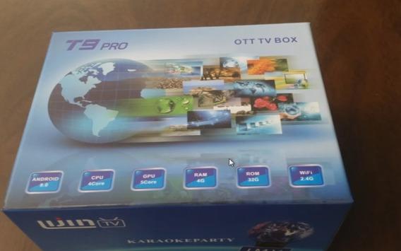 Tv Box T9 Pro 4 Gb De Ram 32 Gb De Rom.