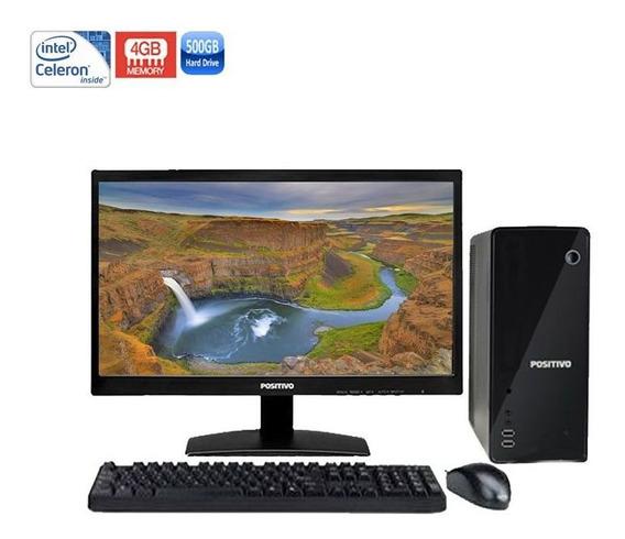 Computador Positivo Stilo Ds3210 Celeron 4gb Hd500gb + Wi-fi